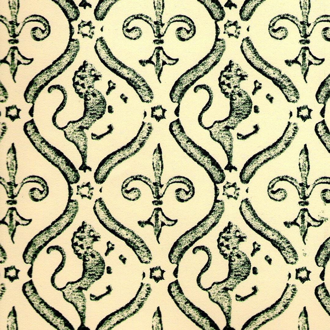 Italienisches Buntpapier 50 x 70 cm grün Carta Varese Überzugspapier